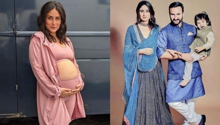 Kareena Kapoor Flaunts Baby Bump In A Maxi Dress With Saif And Taimur, Tim Chit-Chats With The Paps