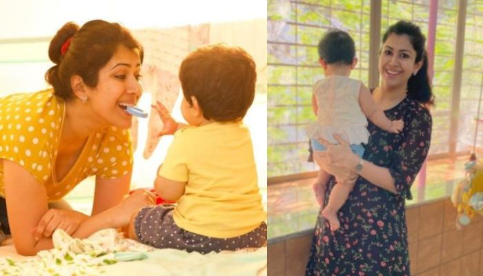 Ankita Bhargava Couldn't Resist Sharing An Adorable Moment With Mehr, Every Working Moms Can Relate