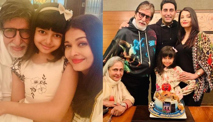 Amitabh Bachchan Poses With Abhishek, Aishwarya, Aaradhya As They Celebrate Christmas