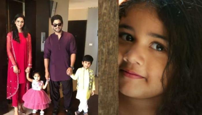 Allu Arjun And Sneha Reddy's Daughter Arha Decorating Her Christmas Tree Is Pure Childhood Nostalgia