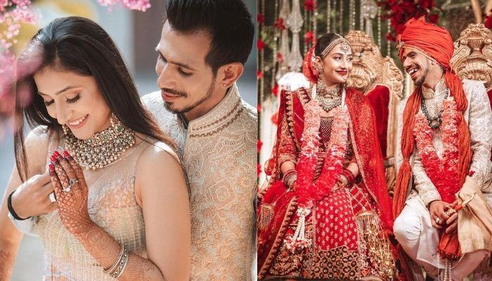 Yuzvendra Chahal And Dhanashree Verma's Two-Tier Engagement Cake Has A Unique Hashtag Topper