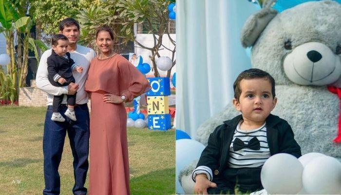 Geeta Phogat Hosts A Sea And Sky Themed Birthday Party On Her Son, Arjun's First Birthday [Pictures]