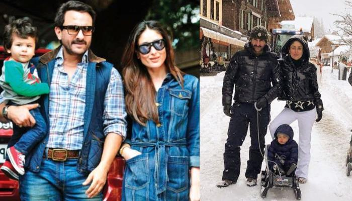 Kareena Kapoor Khan's Photos From Gstaad Trip With Son Taimur And Hubby Saif Ali Khan Are 'Icy-Gold'