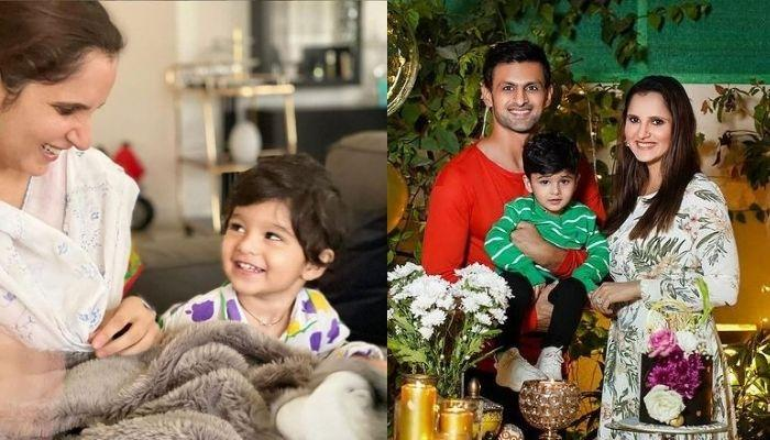 Sania Mirza Records An Interesting Battle Between Hubby, Shoaib Malik And Their Son, Izhaan [Video]