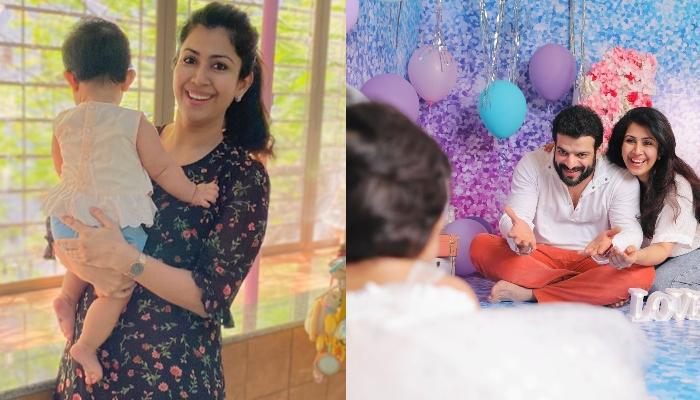 Ankita Bhargava Shares A Cute Family Picture With Hubby, Karan Patel, Reveals Her Baby Girl's Face