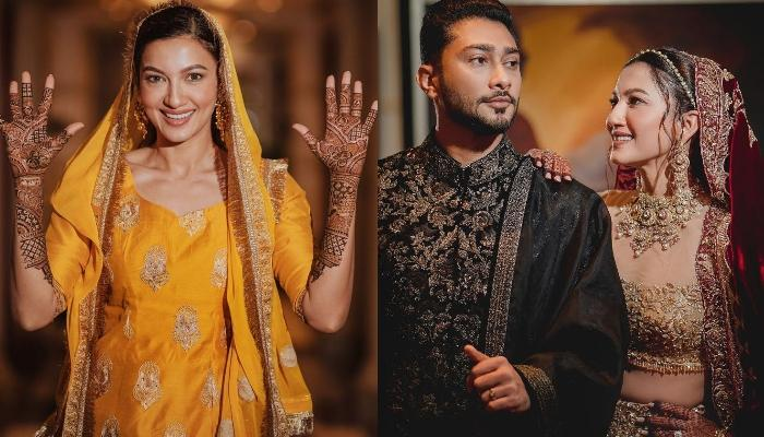 Gauahar Khan Shares Her First-Picture As 'Missus' Post-Marriage, Looks Pretty In A Floral Suit