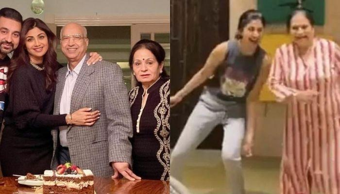 Shilpa Shetty Kundra Shares Glimpses Of Her Mother-In-Law's Work Out Session, Calls Her 'Full Force'
