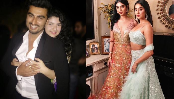 Arjun Kapoor, Janhvi Kapoor And Khushi Kapoor Pamper Sister, Anshula Kapoor On Her Birthday Eve