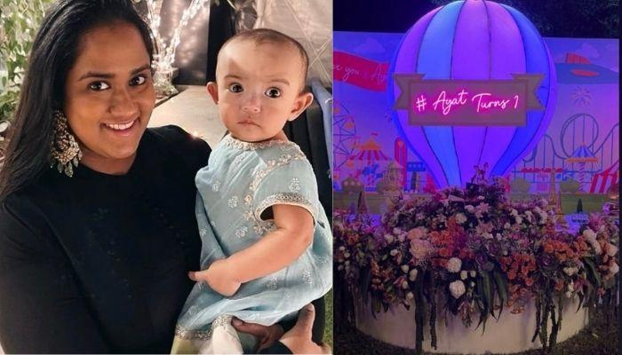 Arpita Khan Sharma Got A Six-Tier Carnival Themed Cake For Her Daughter, Ayat's First Birthday Party