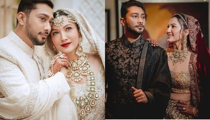 Gauahar Khan And Zaid Darbar's First Photos Post-Wedding, She Flaunts Her Huge Engagement Ring