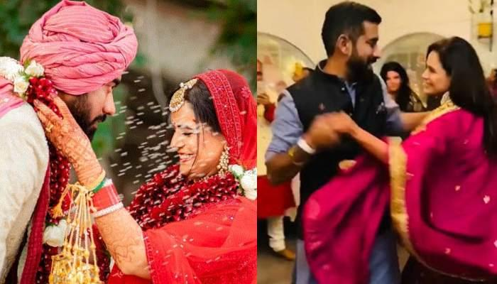 Mona Singh And Hubby, Shyam Rajagopalan Dance Their Heart Out On Their Sangeet Ceremony [VIDEOS]