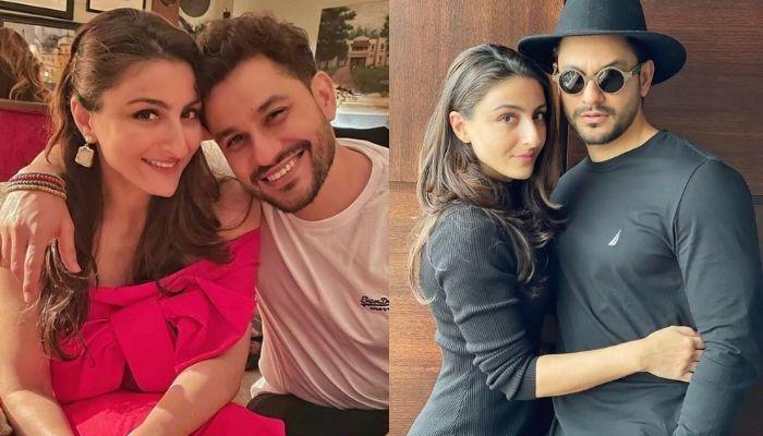 Kunal Kemmu And Soha Ali Khan's Selfie Marathon, She Changes Her Mood According To Hubby's Face
