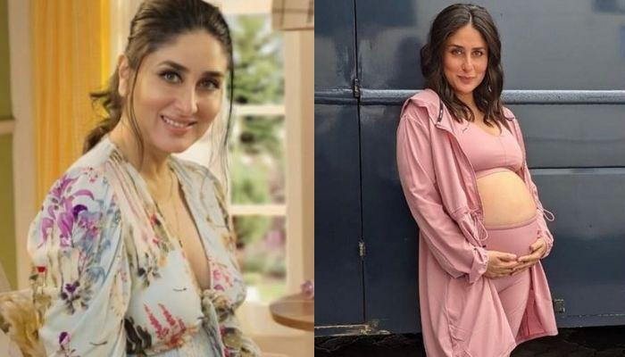 Kareena Kapoor Khan Flaunts Her Baby Bump In Her Candy-Floss Like Outfit And Says 'Waiting To Pop'
