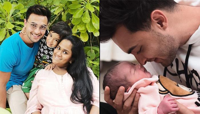 Aayush Sharma Shares First Pictures Of Daughter, Ayat, Family Picture With Arpita-Ahil Is Unmissable
