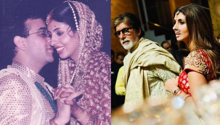 Amitabh Bachchan And Shweta Bachchan Hugging On Her Vidaai Reflects Why It's The Most Painful Moment