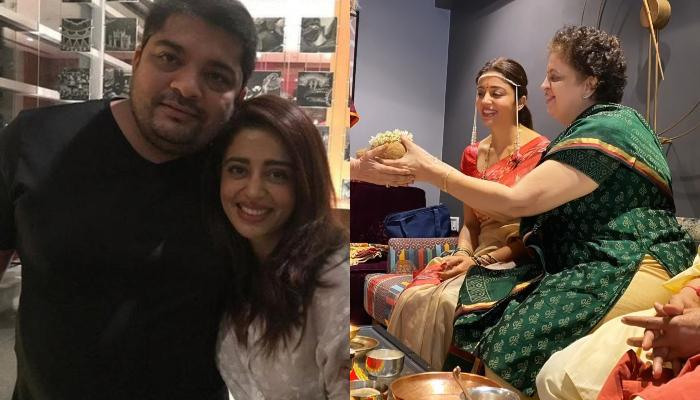 Nehha Pendse's Pre-Wedding Functions Begin With 'Grahmukh Puja', The Happy Bride-To-Be Post Pictures