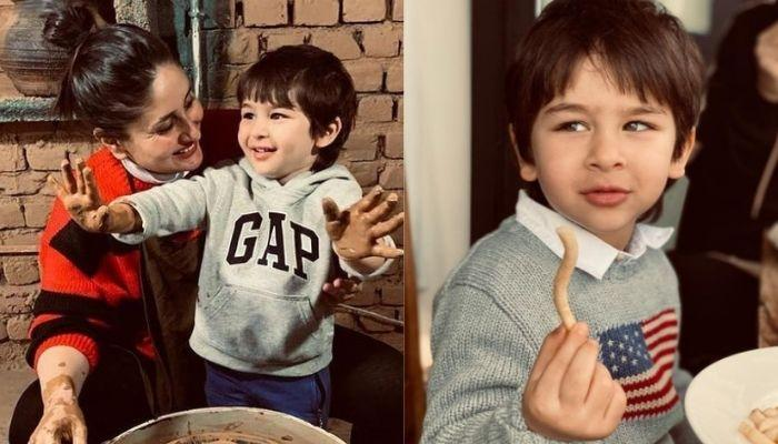 Taimur Ali Khan's Christmas-Themed Red Sweatshirt For Kapoor's Annual Lunch Costs Less Than Rs. 400