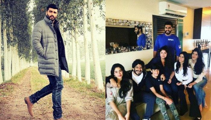 Arjun Kapoor Trolls Sisters Janhvi, Anshula, Shanaya With A Kapoor FamJam Pic And It's Hilarious