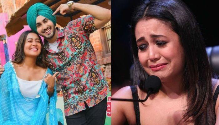 Neha Kakkar's Husband, Rohanpreet Singh Makes Her Cry On The National Television For This Reason