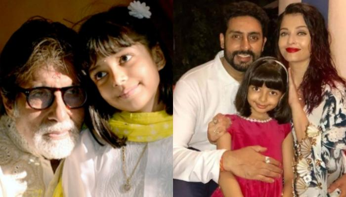 Amitabh Bachchan Records Music With Aaradhya Bachchan, Abhishek And Aishwarya Capture The Moment