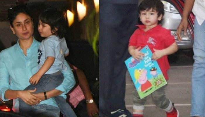 Taimur Ali Khan And Kareena Kapoor Khan Kickstart Their Weekend With A Play Date With Peppa Pig