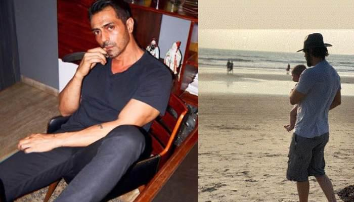Arjun Rampal Shares Picture Of A 'Blissful Day' Spent With His Doting Son, Arik From Their Vacation
