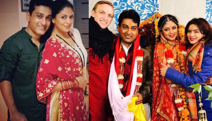 Kavita Kaushik And Ronnit Biswas Wish Each Other Romantically On Their Third Wedding Anniversary