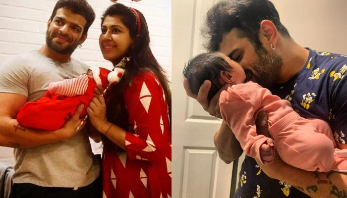 Karan Patel And Ankita Bhargava's Daughter, Mehr's First Clear Picture Is Out And We Are In Awe