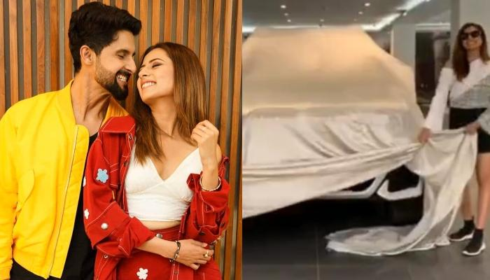 Ravi Dubey And Sargun Mehta Welcome Home A Brand New Car, The Former Pens A Happy Note