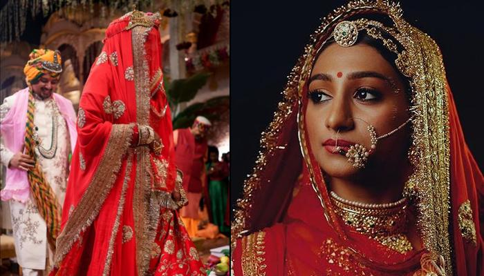 Mohena Kumari Singh Exudes Royalty In Unseen Pictures From Her Wedding Shared By Designer Sabyasachi