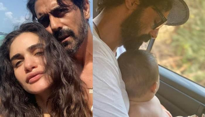 Arjun Rampal Shares A Picture With Son Arik Rampal From Their Goa Vacation, Calls Him 'Camera Shy'