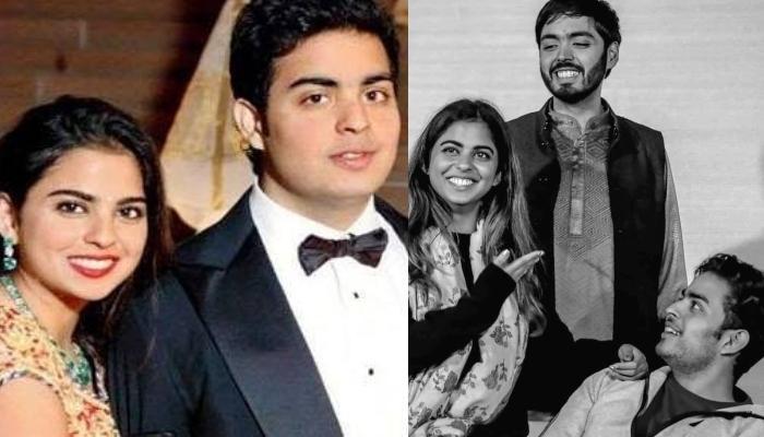 Akash Ambani And Isha Ambani Shell Out Sibling Goals In A Post-Workout Picture