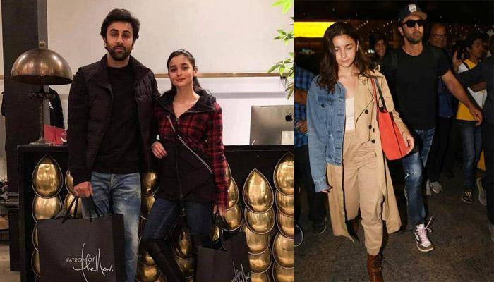 Ranbir Kapoor Turns Into A Protective Boyfriend, As His Ladylove, Alia Bhatt Was Crowded By The Paps