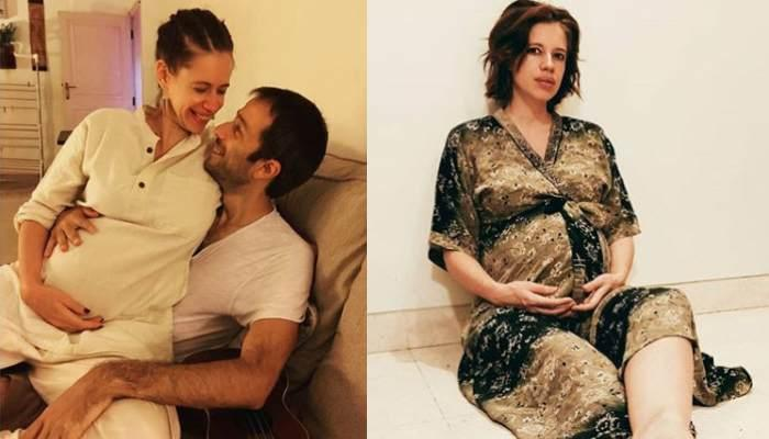 Kalki Koechlin Flaunts Her Cute Baby Bump In A Swimsuit, Her Adorable Pregnancy Glow Is Unmissable