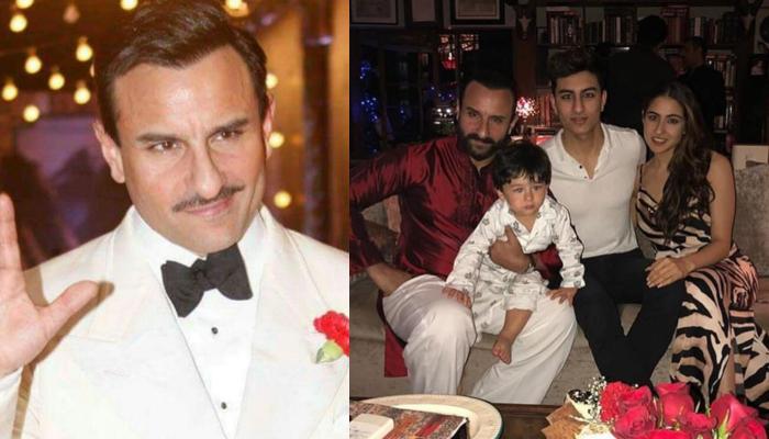 Saif Ali Khan Talks About Difference In Raising Sara Ali Khan, Ibrahim Ali Khan, And Taimur Ali Khan