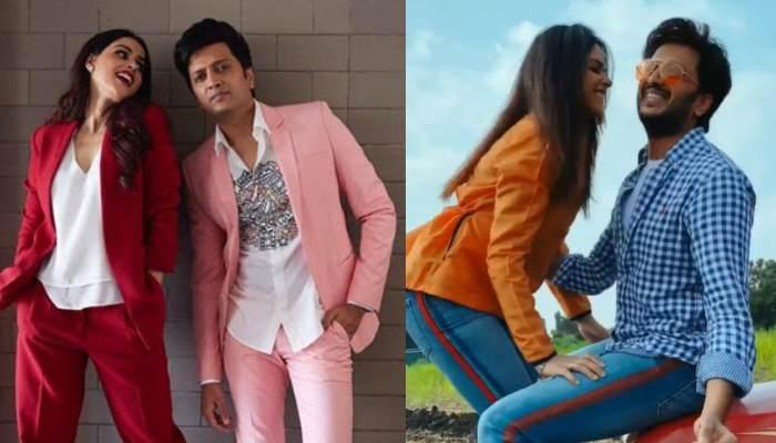 Genelia Deshmukh And Riteish Deshmukh Dance Their Hearts Out On 17th Anniversary Of Their Debut Film