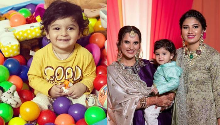 Sania Mirza's Son, Izhaan Mirza Malik Is 'Twinning And Winning' Hearts With His 'Khaala', Anam Mirza