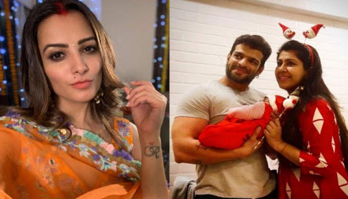 Anita Hassanandani Meets Karan Patel And Ankita Bhargava's Baby Girl, Mehr, Says Want To Have A Baby