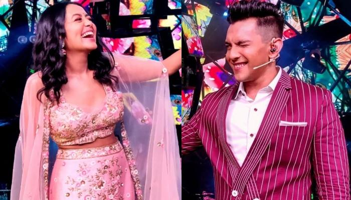 Neha Kakkar Shoots For A Song With Aditya Narayan Ahead Of Their Rumoured Wedding