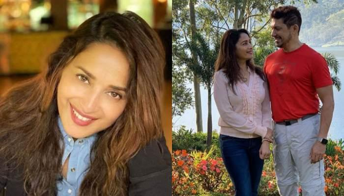 Madhuri Dixit Nene Shares A Beautiful Picture With Hubby, Sriram Nene, Calls Him The 'One She Loves'