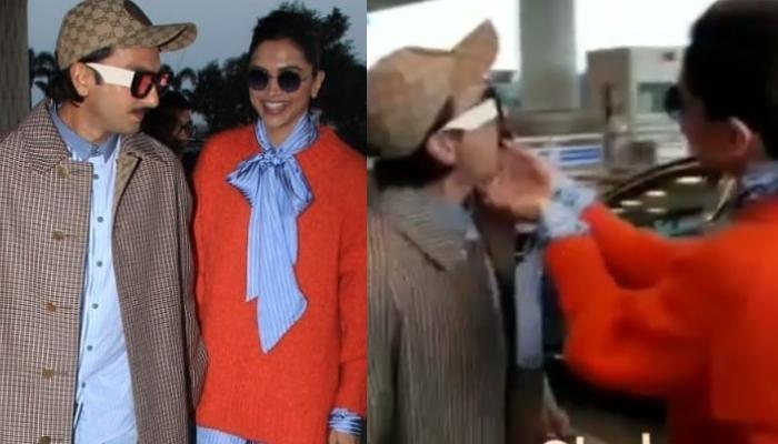 Deepika Padukone Kick-Starts Her Birthday Celebration With Husband, Ranveer Singh At The Airport