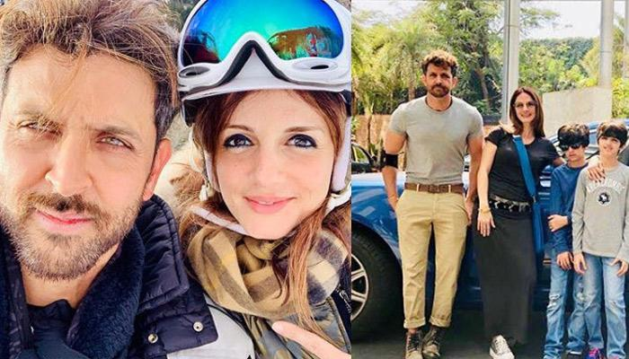 Ex-Couple Sussanne Khan And Hrithik Roshan Welcome New Year Together, Kids And Family Accompanied