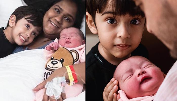 Arpita Khan Sharma Shares Glimpse Of Ahil Sharma And Ayat Sharma's 'Mashallah' Brother-Sister Moment