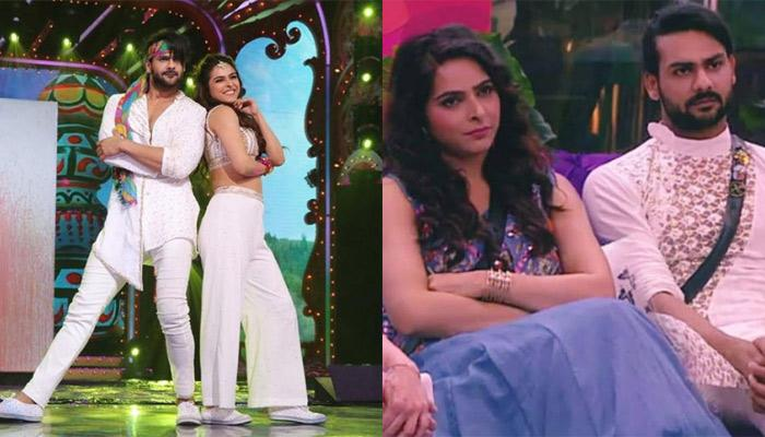 Madhurima Tuli And Vishal Aditya Singh Get Into A Fight, She Hits Him With A Slipper In BB House