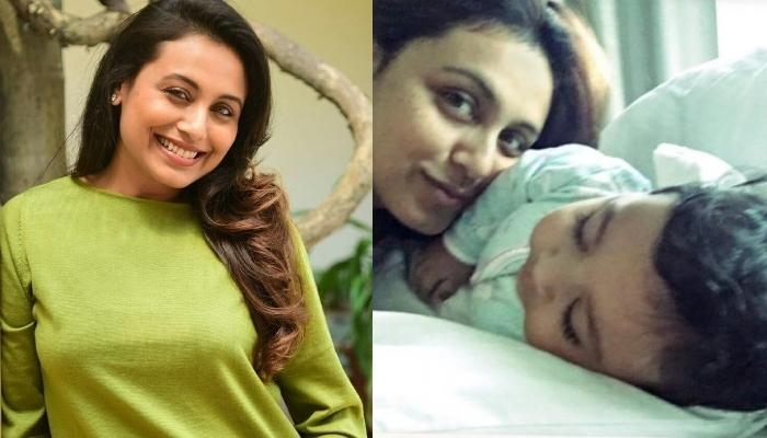 Rani Mukerji's Daughter, Adira Is Already An Artist, Paints A Card For 'Chachu' Uday Chopra
