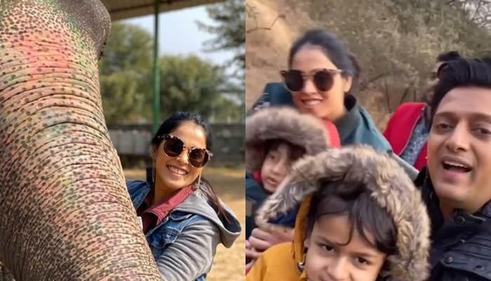 Genelia Deshmukh And Riteish Deshmukh Take A Tour Of 'Incredible India' Giving Major Family Goals