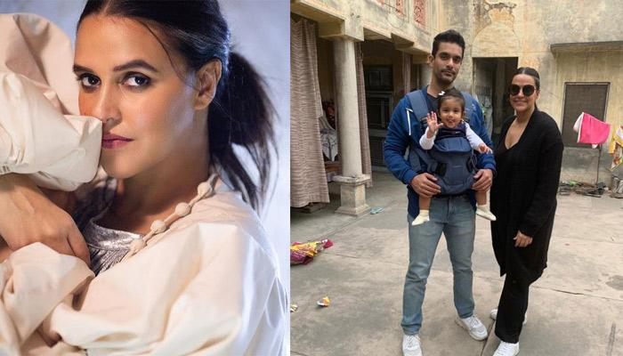 Neha Dhupia Reveals The First Word That She Taught Her Daughter, Mehr And The Reason Behind It