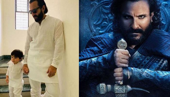 Taimur Ali Khan Calls Saif 'Sardar Ji' After Seeing Him In Udaybhan Singh's Avatar From 'Tanhaji'