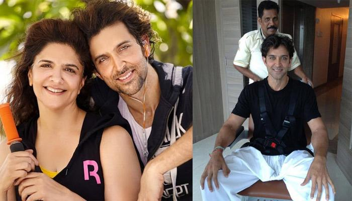 Hrithik Roshan's Mom, Pinkie Shared Unseen Pictures From His Brain Surgery, Calls Him An Inspiration
