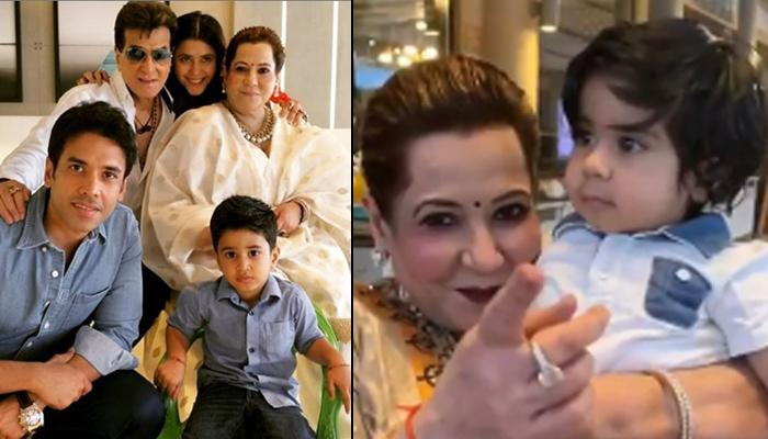 Ekta Kapoor Gives Glimpse Of Shobha Kapoor's Special Moments With Laksshya And Ravie On Her Birthday